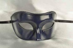 Black Captain Plain One Colour Il Capitano Snub Nose Beak Mask Venetian Masque