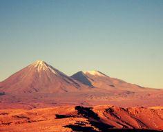 Vulcões Lincabur e Jurique, Chil/Bolívia