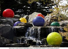 Chihuly Sculpture/Earth Works/ Photography ideas