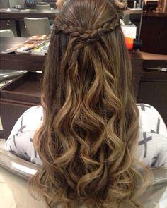 Braids - # prom # braids  #Braids #Hairstyle #hairstyles #Prom