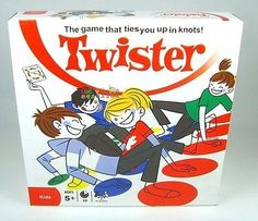 cool Hot Classic Twister Game Friends Family Moves Game Classic Board Game - For Sale