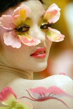 Flower Eyes, Butterfly Winks ;) | ❀ Flower Power! ❀