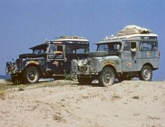 First Overland, London to Singapore 1955