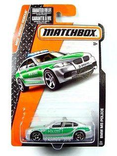 2015 MATCHBOX / BMW M5 Police (Metallic Silver) - Mint on long card.