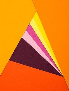 geometric paper design
