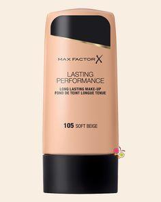 MAX FACTOR Lasting Performance İz Bırakmayan Sıvı ve Kalıcı Fondöten 105 Soft Beige
