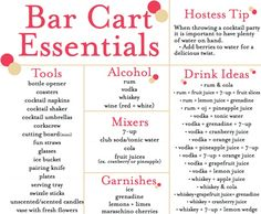 A Touch of Southern Grace : Bar Cart Styling