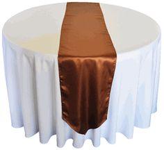 Copper table runner