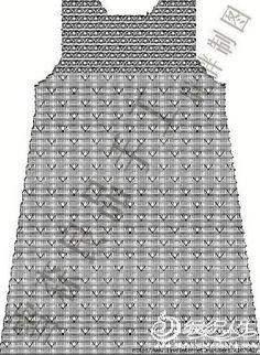 Crochet everything. Knit Baby Dress, Little Dresses, Baby Dresses, Baby Knitting, Knitwear, Crochet Patterns, Mens Tops, Clothes, Tutorial Crochet