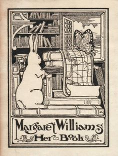 Bookplate of Margaret Williams