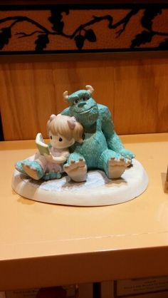 Monsters Inc Precious Moments Figurine Precious Moments Quotes, Disney Precious Moments, Precious Moments Figurines, Disney Figurines, Collectible Figurines, Disney Treasures, Disney Rooms, Polymer Clay Figures, The Fox And The Hound