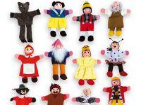 Set marionetas dedo - Eneso - Tecnología para personas con discapacidad