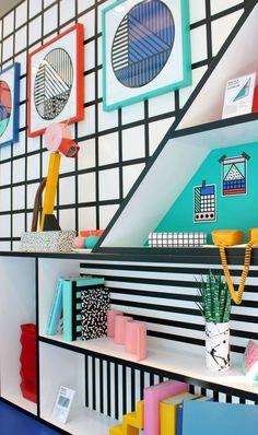 Trend Alert: Memphis style interior design