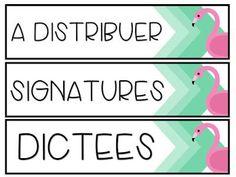 La classe de Karine: Collection 2016-2017 New Classroom, Classroom Setting, Classroom Themes, School Organisation, Classroom Organization, Classroom Management Techniques, Teacher, Google Drive, Flamingo