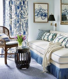 4 Good-Looking Cool Ideas: Upholstery Fabric Beautiful upholstery springs home.Upholstery Couch How To Get upholstery projects stain removers. Interior Pastel, Mark Sikes, Living Room Upholstery, Upholstery Tacks, Upholstery Cleaning, Furniture Upholstery, Interior Design Work, Living Comedor, Ferrat