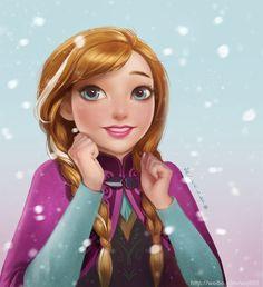 Anime , Anna , Frozen ♥