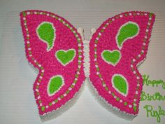butterfly first birthday cake | Butterfly 1st birthday cake — Children's Birthday Cakes