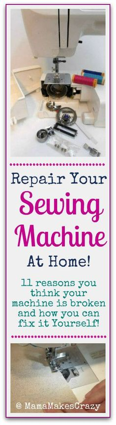 How to repair your machine at home |