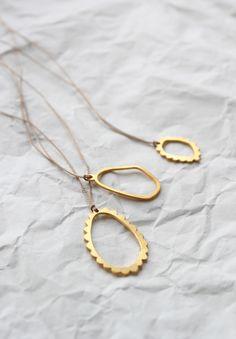 Little frame necklace van WSAKE