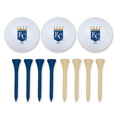 Kansas City Royals Golf Balls & Tees Set - MLB.com Shop