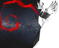 Space Magpie by =Skia on deviantART