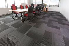 Image of: Industrial Carpet Tiles Black