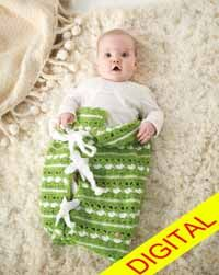 Bundle of Love Baby #Bunting Digital #Crochet Pattern from Love of Crochet magazine, Spring 2015