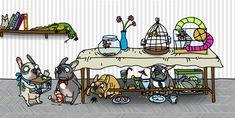 French Bulldog Pictures, French Bulldog Art, Decoupage, Illustration, Artwork, Prints, Bulldogs, Animals, Painting