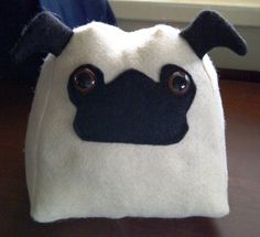 Pug Pillow! Buying this for Carter for his birthday! :D
