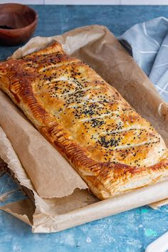 This vegetarian main is a real showstopper! It's easy to pull together but looks impressive. This wellington is packed with butternut squash, goat's cheese and herbs. #thecookreport #squashwellington #vegetarian Vegetarian Breakfast, Vegetarian Recipes Easy, Delicious Recipes, Yummy Food, Picnic Recipes, Picnic Foods, Lunch Recipes, Winter Dinner Recipes, Easy Dinner Recipes