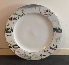 David Carter Brown Collection - On The Farm 8 inch plate by ...