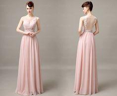 lace bridesmaid dress, blush bridesmaid dresses, off shoulder bridesmaid dresses, long bridesmaid dress, chiffon bridesmaid dress, CM031