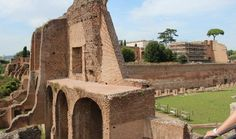 Imperial Palace and Stadio Palatino on Palatine Hill. (The primrose hill of ancient rome. LOL)