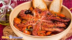 Polpo alla Luciana/Octopus with cherry tomatoes