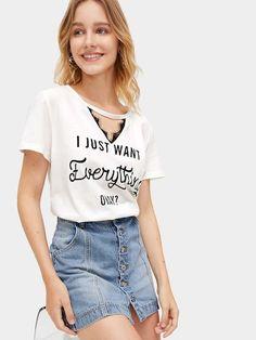 Camisetas   Camisetas Ofertas Online   ROMWE