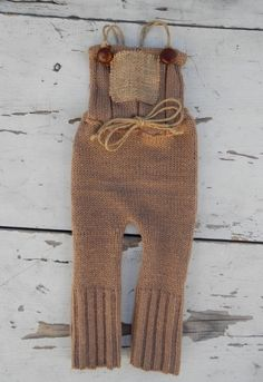 Image of Brown Farmhouse Boy Romper