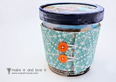Ben and Jerry's Cozy so you can shovel in the goodness without having to set the container down due to freezing hands!
