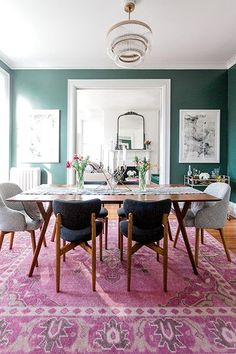 Pair Your Palette - 15 Reasons Why You Need To Paint Your Walls A Jewel Tone - Photos