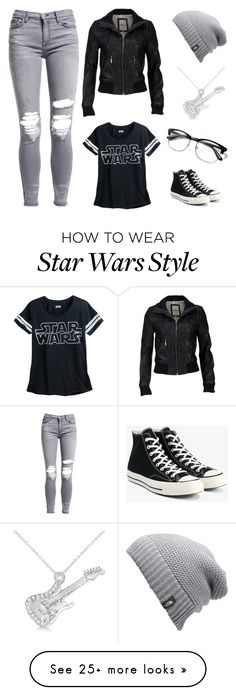 """""""Tomboy"""" by talia-wright on Polyvore featuring Serious Sally, AMIRI, Converse, The North Face, Allurez, blackandwhite, RayBans, tomboy and guitar"""