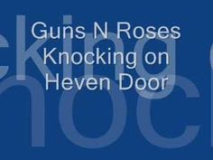Knocking on Heavens Door with lyrics