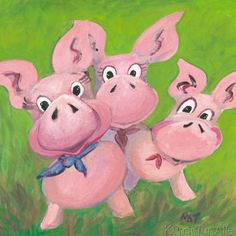 NAT - The Three Little Pigs