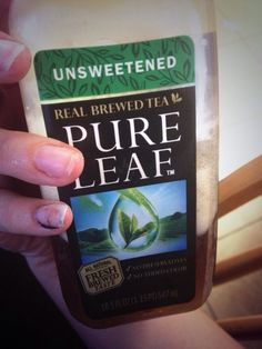 Busted a nail on my first day of work but it was okay with the @pureleaf tea I bought by my side. With just a small amount of sugar added, I was ready to go! @influenster #vitavoxbox #sponsored