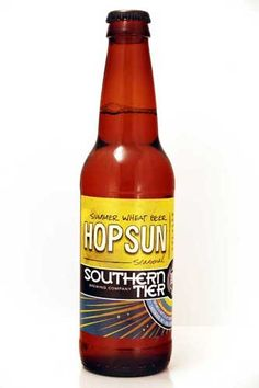 Hopsun summer seasonal beer from Southern Tier. Gotta get me some.