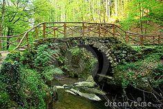 Fairytale bridge by Annemario, via Dreamstime