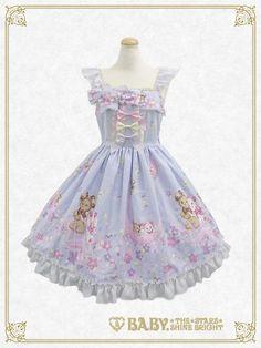 Baby, the stars shine bright Kumya's Glittery ☆ Milky Way Jumper skirtⅠ