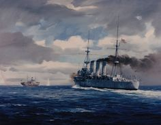 old warships pics | The West Virgina is seen forward, settled and burning after 7 torpedo ...