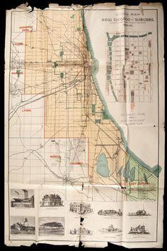 Illinois Central Railroad Map 1850 Train Travel in the 1800s