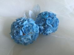 ELIXITA 1pc Decorative silk flowers kissing ball centerpiece home ornament USA #ELIXITA