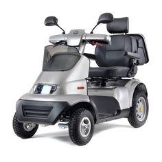 Afikim scootmobiel S3 - Snelheid: 15 km/u - Actieradius: 50 km - Maximaal gebruikersgewicht: 200kg