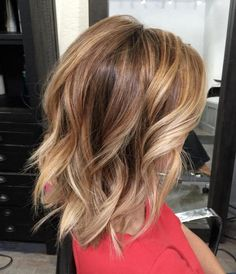 Curled Lob Hairstyle